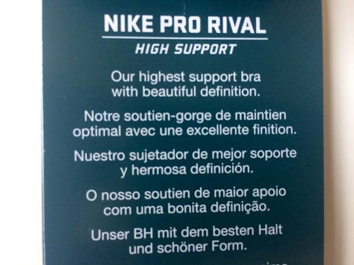 Nike Pro Rival Sport BH