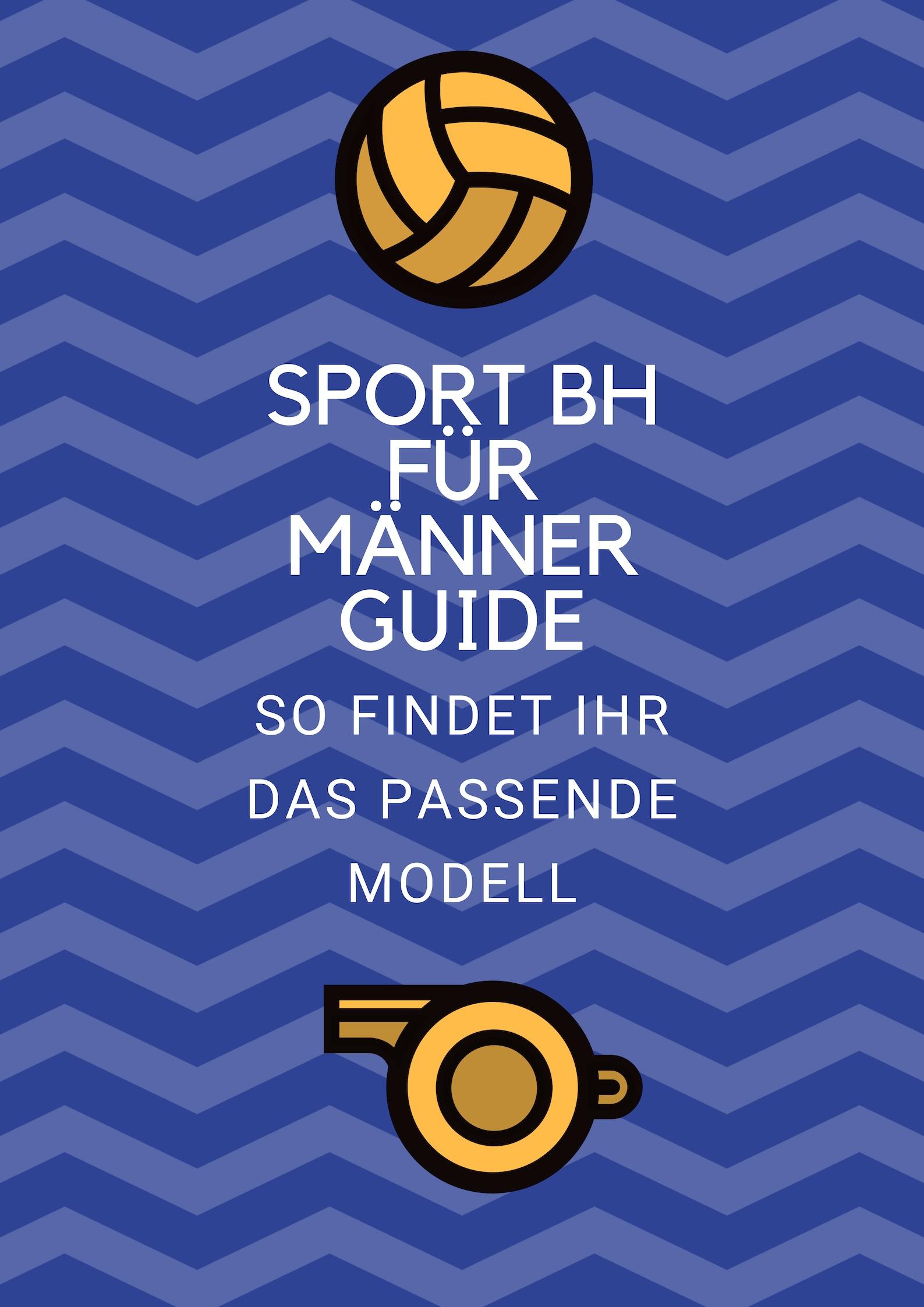 e920587ada Sport BH für Männer | Beste Modelle + Ratgeber | SPORT BH GUIDE